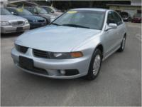 2003 Mitsubishi Galant ES with 2.4L engine and