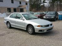 ~*~ 2003 Mitsubishi Galant ES Sedan ~*~  Silver