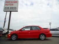 2003 Mitsubishi Lancer OZ Rally Edition. Great Gas