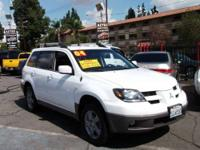 ** 2003 MITSUBISHI OUTLANDER XLS ** AWD, affordable,