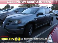 Options:  2003 Mitsubishi Outlander Xls|Check Out This