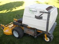 Here is a super clean 2003 Walker mfg 26HP Fuel