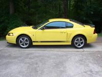 Very rare 2003 Mustang Mach 1. This car is in mint