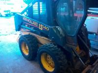 2003 New Holland Construction LS140 Cab & Heat Hand N