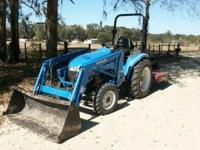 2003 New Holland TC29D Tractor w/ 7308 Loader 60""