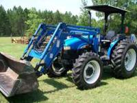 WELL TAKEN CARE OF - A 2003 NEW HOLLAND TN65 DIESEL