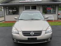 This 2003 Nissan Altima comes fully loaded with Power