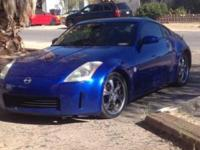 I have a 2003 Nissan 350z touring coupe in Daytona