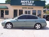 Options Included: N/A2003 Nissan Altima 2.5 SL. Super