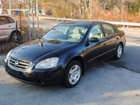 This 2003 Nissan Altima has a full power 6 cylinder