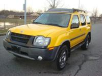 This Xterra has the same 3.3L V6 engine that comes in