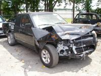 Wrecked 2003 Nissan Frontier  ** ENGINE Has Been SOLD
