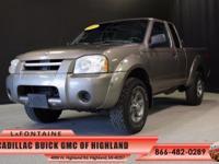 2003 Nissan Frontier XE in Sand Dune Clearcoat Metallic