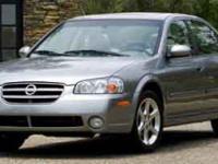Options:  2003 Nissan Maxima|Silver/|V6 3.5L |53086
