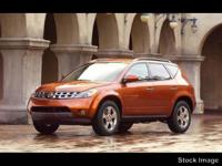 Options:  2003 Nissan Murano Sl|Sl 4Dr Suv|3.5L|6