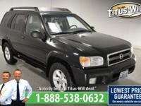 New Price!2003 Nissan Pathfinder Black, Completely