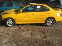 PARTING OUT YELLOW 2003 NISSAN SENTRA SE-R - Nissan