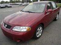 JUST TRADED IN! This 2003 Nissan Sentra is currently