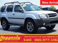 This 2003 Nissan Xterra SE S/C in Silver Ice Clearcoat