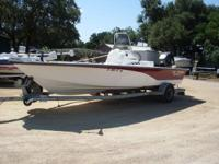 2003 Nitro Bay 2200 Tunnel, 150 Mercury Saltwater, Four