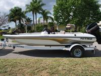2003 NITRO NX882 18� BASS BOAT!  2003 MERCURY 150 HP