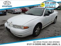 *This 2003 Oldsmobile  Alero GL1 has a sharp Arctic