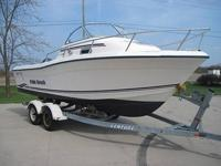2003 Palm Beach Whitecap Walk Around 22ft sport