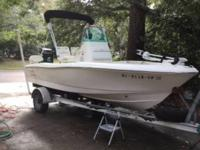 "2003 Pioneer Bay Sport.Length 17'7"" Located in Mount"