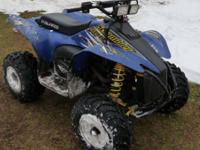 Excellent running 2003 Polaris Scrambler 500 4x4. I