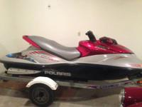 2003 Polaris MSX 140 HO jet ski. Ski has 69 original