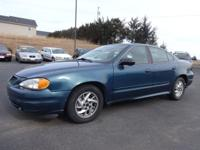 Exterior Color: blue, Body: 4 Dr Sedan, Engine: 2.2 4