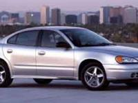 Scores 33 Highway MPG and 24 City MPG! This Pontiac