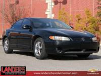 CARFAX One-Owner. Black 2003 Pontiac Grand Prix GT FWD
