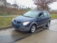 Developed by Toyota, this 2003 Pontiac Vibe shares