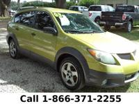 2003 Pontiac Vibe Features: Tinted Windows - AM/FM