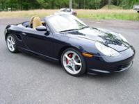 This 2003 Porsche Boxter S Roadster is a beauty! It's