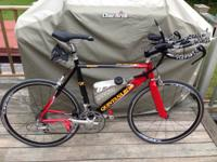 Great initially tri bike!  Quintana Roo Tequilo size 53