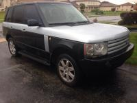 Stunning one of a kind Black & & Silver 2003 Land Rover