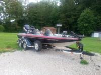 2003 Ranger 519 DVX Bass Boat with Ranger dual axle