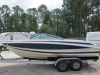 2003 Regal 2000 with a Volvo Penta 5.0 GXI and low