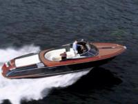 The Riva Aquarama is a speedboat model built by