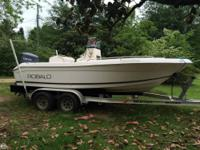 - Stock #75749 - The 2003 Robalo 180 Center console is
