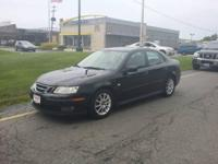 Spick-and-span 2003 Saab 9-3 2.0 t. Black with Grey