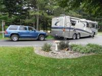 2003 Safari Panther Class A and 2003 Dodge Durango This
