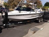 Hey guys. Selling my 2003 Sanger V210 wake ediition.