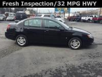 2003 Saturn ION2 Black Gray and FRESH PA. INSPECTION.