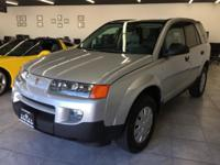 2003 SATURN VUE 4DR SUV SILVER! FULLY LOADED!VERY