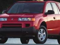 2003 Saturn VUE V6 Vehicle Highlights Include..., 3.0L