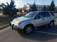 We are excited to offer this 2003 Saturn VUE. When you