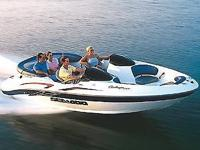 2003 SEA DOO CHALLENGER 2000 20' JET BOAT WITH 240 HP